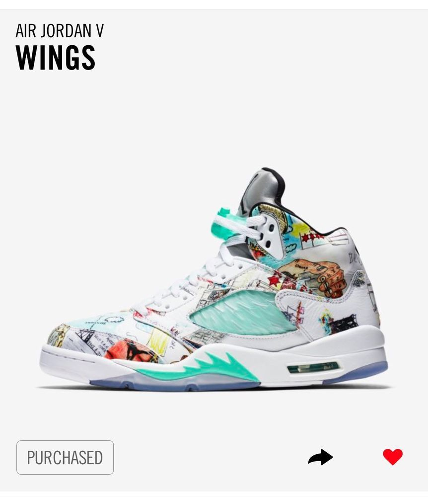 ab63f98d983cf6 Jordan 5 Retro Wings  Size 10.5 Order Confirmed from Nike SNKRS 100%  Authentic  fashion  clothing  shoes  accessories  mensshoes  athleticshoes  (ebay link)