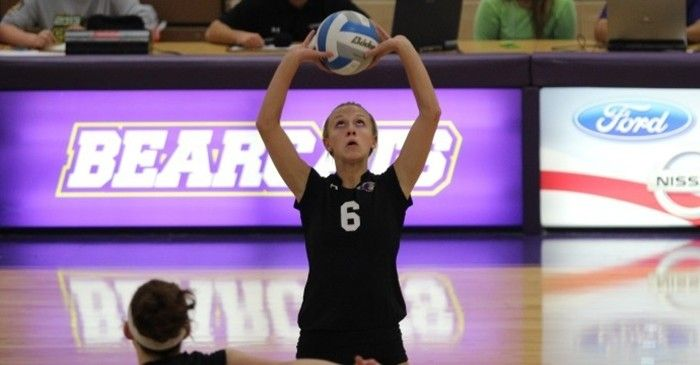 Bearcat Volleyball Team Remains In Glvc Playoff Hunt After Home Sweep Of Wisconsin Parkside Volleyball Team Volleyball Playoffs