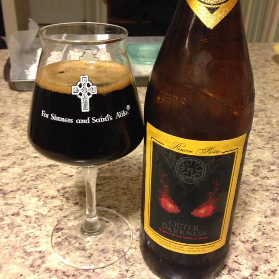 Outer Darkness (2010) by Salt Lake Brewing - Squatters