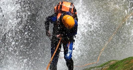 COSTA RICA: Canyoning Tour (discounts available through www.puravidaeh.ca)