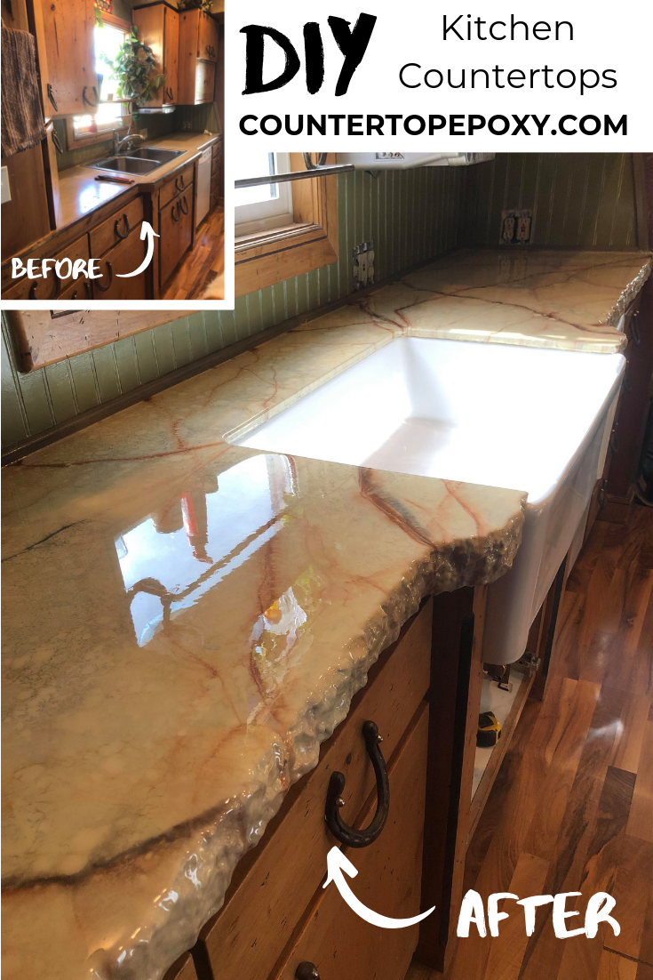 Clear Epoxy Resin Countertop Photos Outdoor Kitchen Countertops