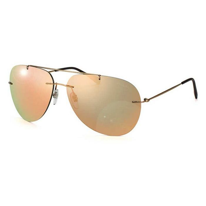 Prada PS50PS-ROU2D2 Red Feather Men\'s Brown Frame Gold Lens 60mm ...
