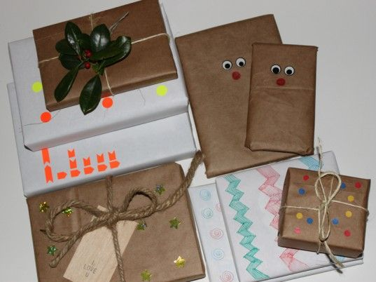 Eco Nifty Wrapping 20 Eco Gift Wrap Ideas From Future Present Eco Gift Wrapping Christmas Wrapping Diy Gift Wrapping