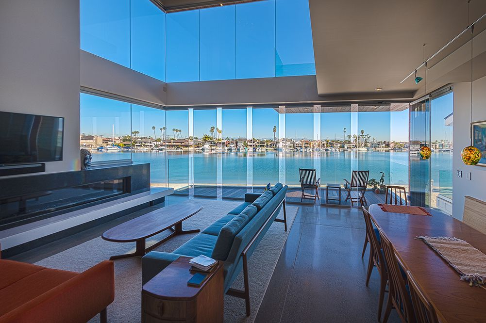 With Weatherproof Frameless Sliding Glass Door Systems And A