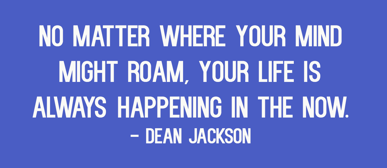 Inspirational Quotes For People With Depression: Your Life Is Happening. #peersupport #depression #recovery