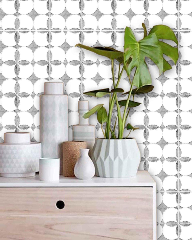 Tile Decals Tiles For Kitchen Bathroom Back Splash Floor Carrera Marble Backsplash Tilevinyl Wallpapervinyl