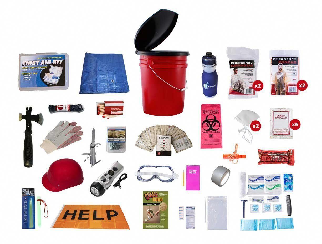 Earthquake Disaster Kit   Off Grid Survival Gear Emergency Kit #survivalgear