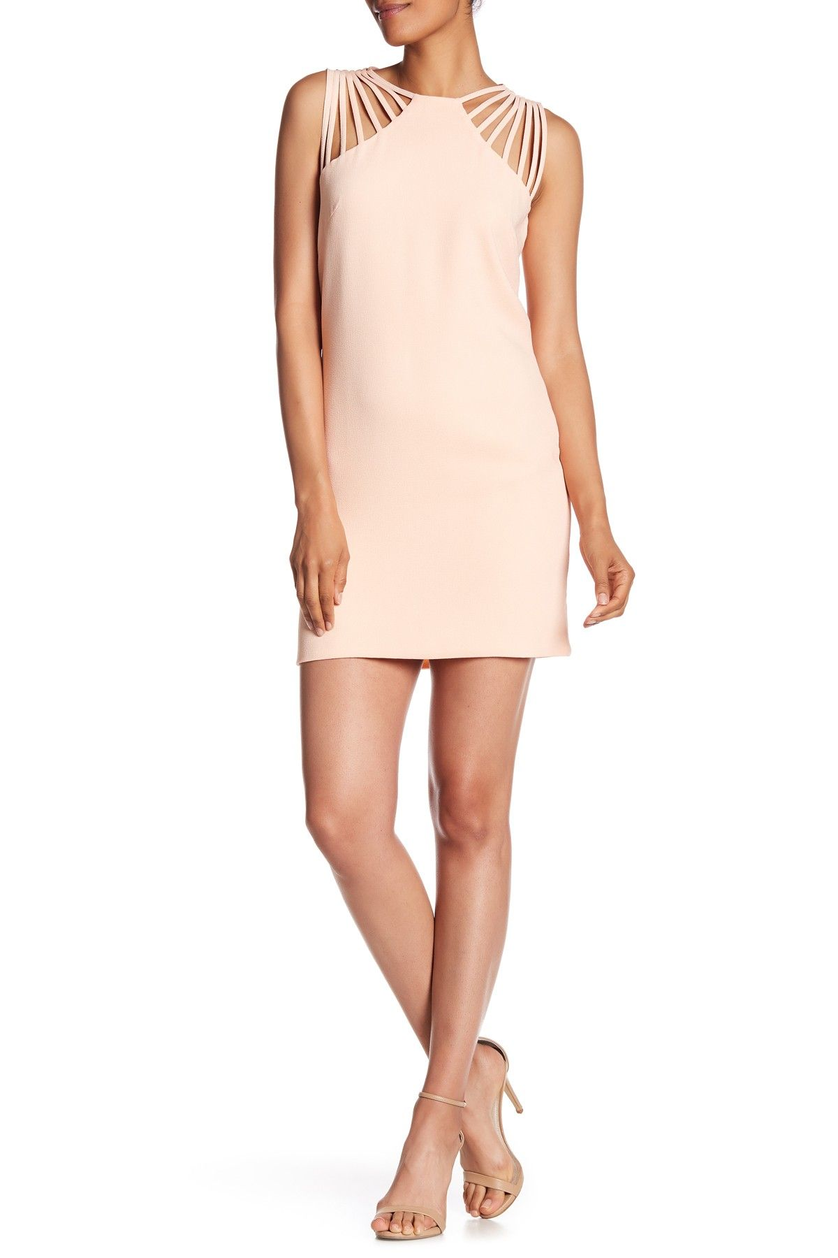5648c19d Cora Strappy Shoulder Sheath Dress by Dress the Population on  @nordstrom_rack