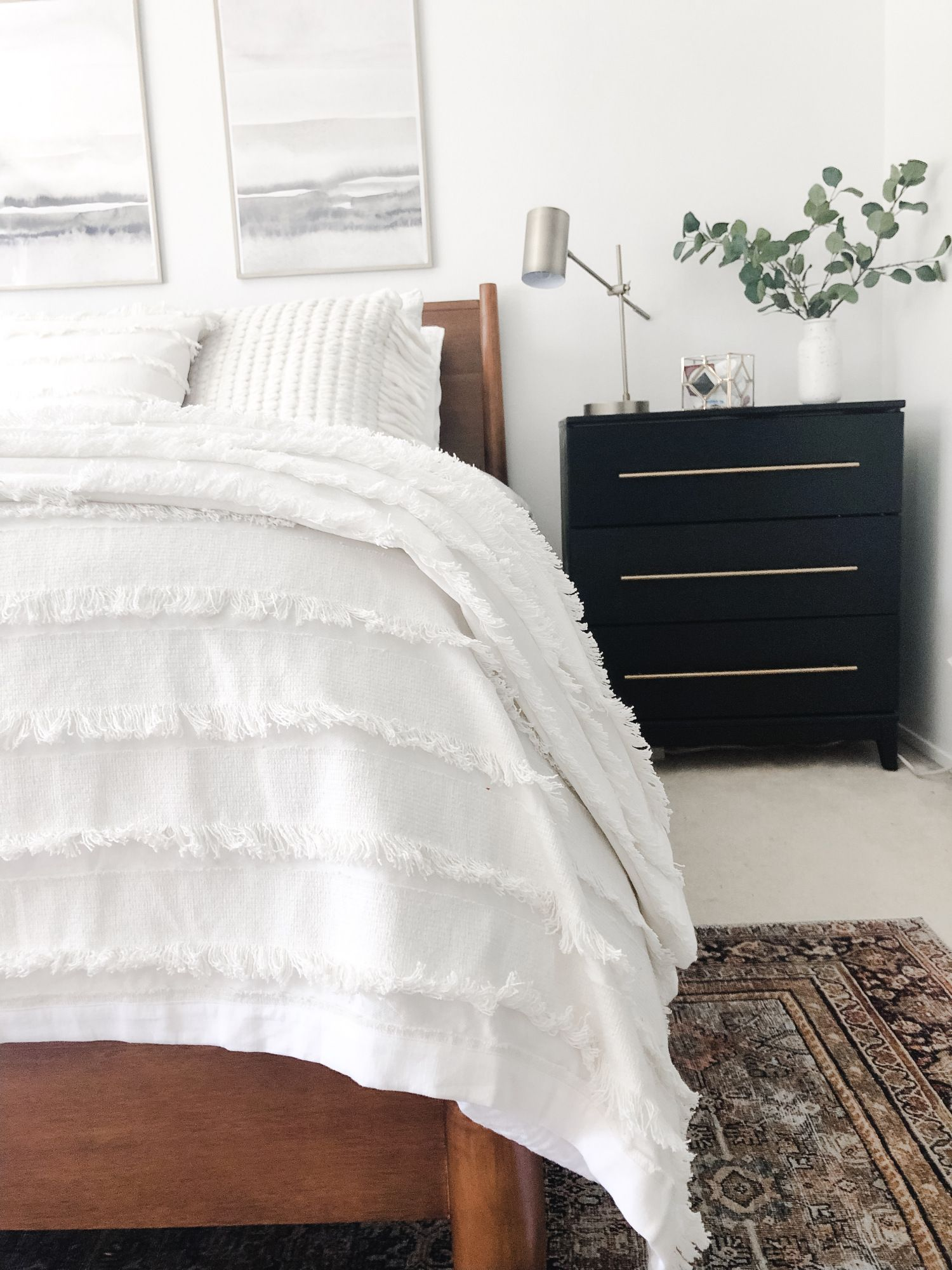 Minimalist Master Bedroom Reveal Home on Mount Forest