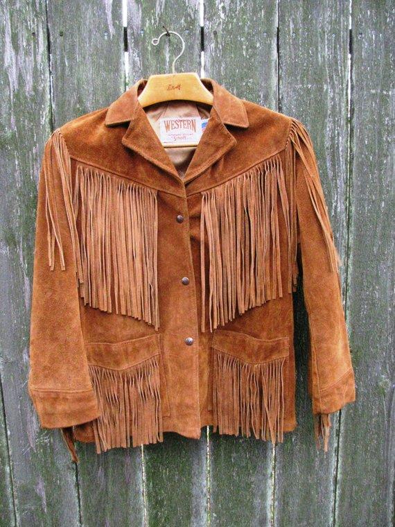 53a978684922 Leather Fringe Jacket