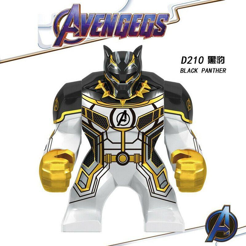 Avengers EndGame Big Size Marvel Hulk Infinity Minifigured Building Blocks DC