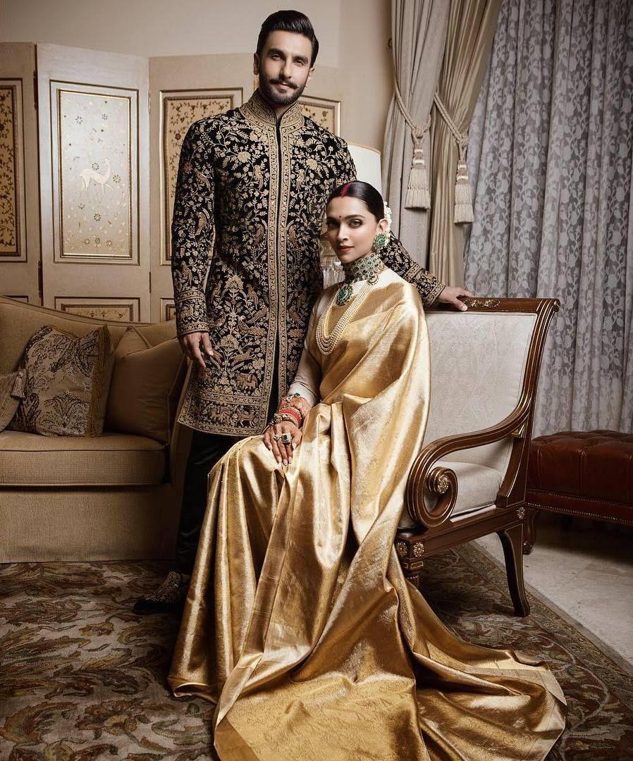 Lo Ho Gai Shaadi Deep Aur Veer Ki!  Pakaian pengantin pria