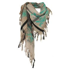 Lilly Fringe Scarf Shadow, $179, now featured on Fab.