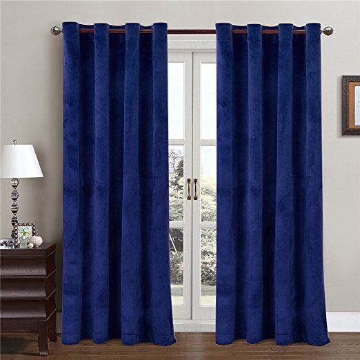 Curtains Ideas black friday curtain sales : Sales for BLACK FRIDAY Comforhome Solid Soft Velvet Window Curtain ...