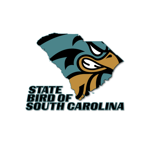 This Spirit Design Features The Chanticleer In An Outline Of The State Of South Carolina Http Ww Coastal Carolina Coastal Carolina University South Carolina