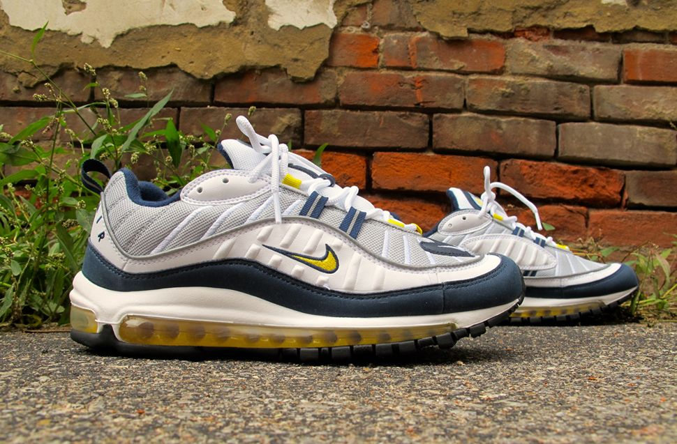 Nike Air Max 98 Tour Yellow & Midnight Navy
