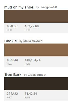 Rgb Codes For Hair And Skin Colors For Skin Tone Skin Color