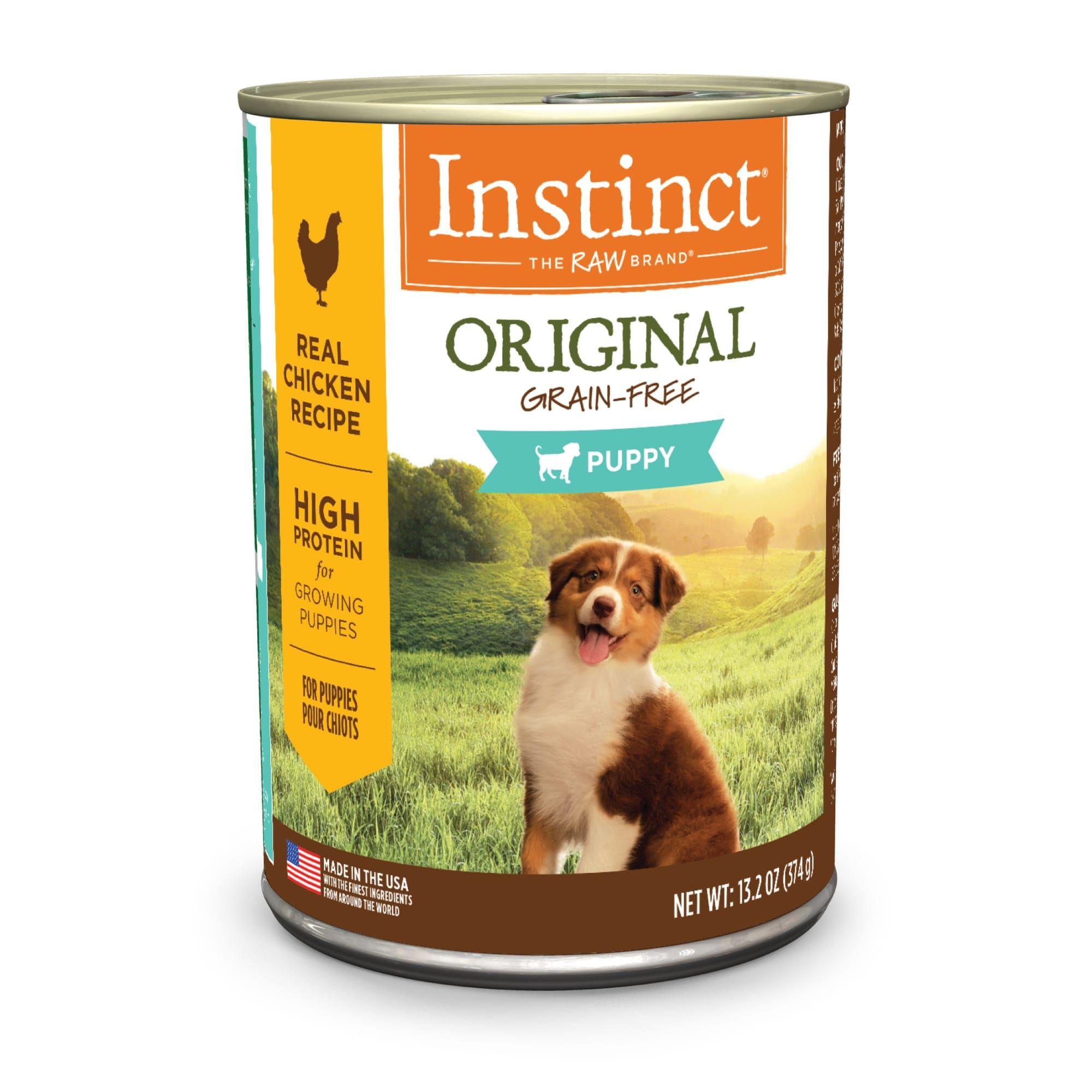 Instinct Original Grain Free Real Chicken Recipe Wet Canned Puppy