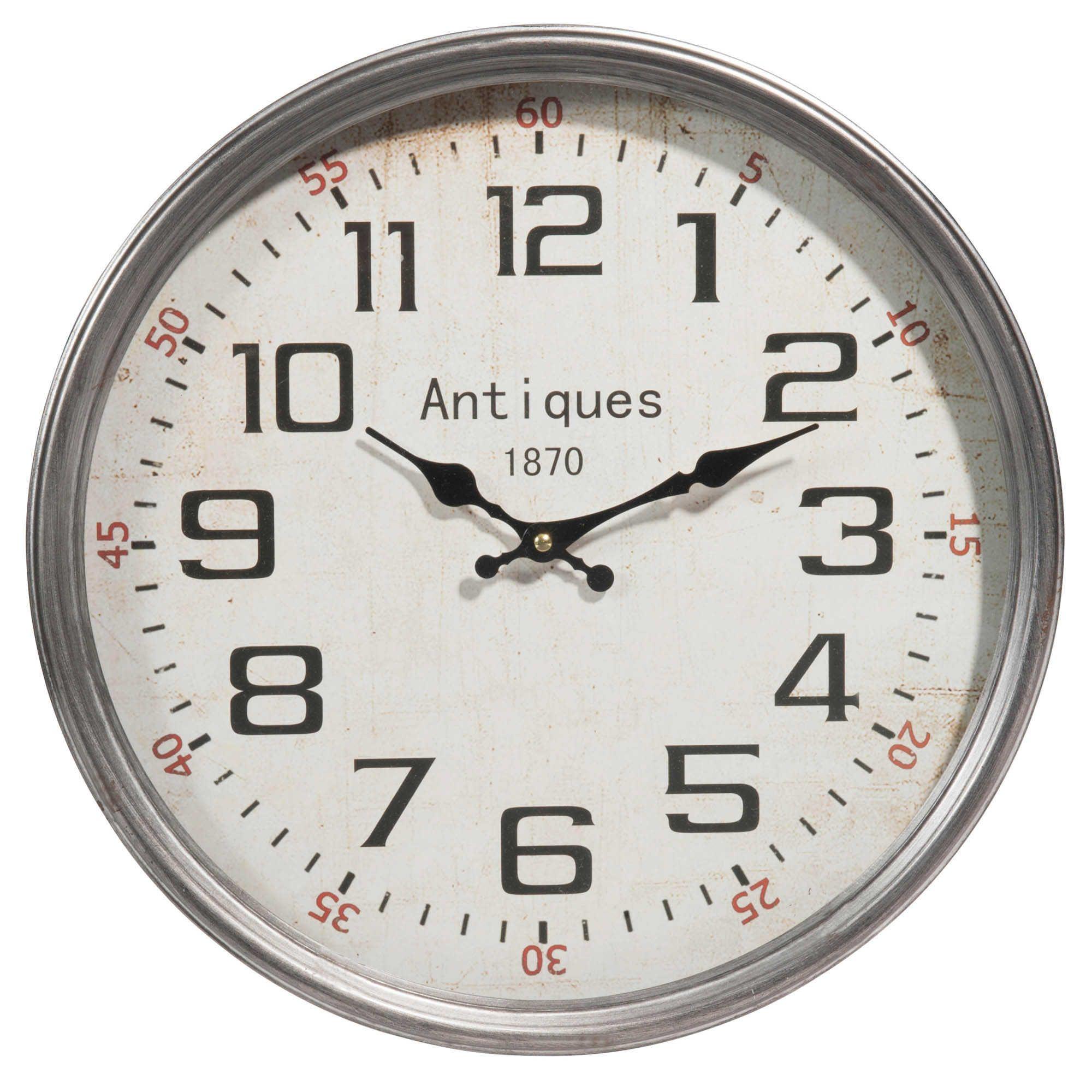 Reloj de metal D 40 cm PARKER