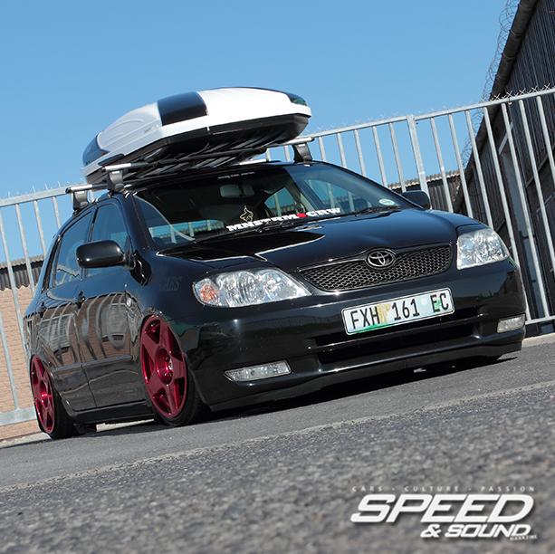 Toyota Run X: Slamm Dunk Tha Funk, Easter Cape Represented. Air-Wurx
