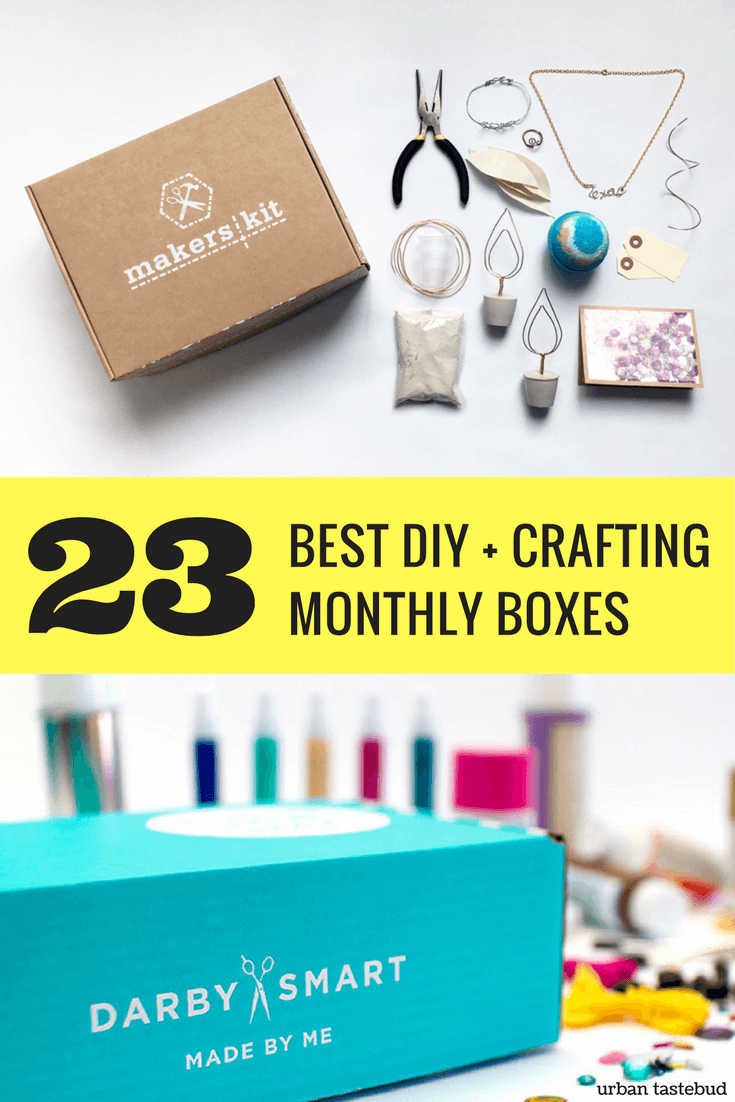 24 Best Diy Hobby And Craft Subscription Boxes Subscription