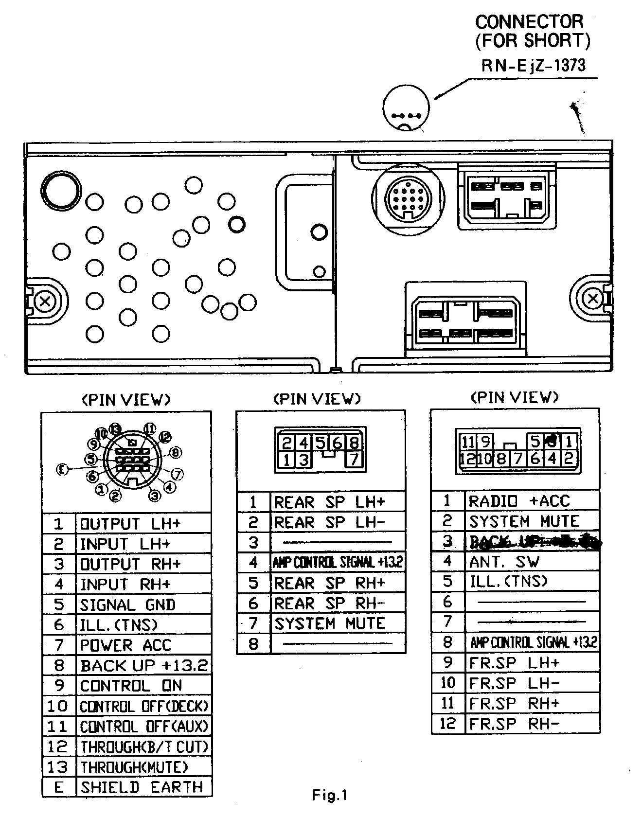 Ford Factory Amplifier Wiring Diagram Car Stereo Stereo Diagram