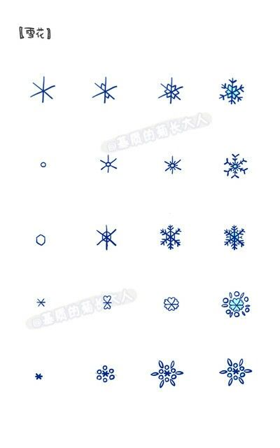 Pin By Manou On Tutoriais Desenhos Kawaii Bullet Journal Doodles Bullet Journal Inspiration Snowflakes Drawing