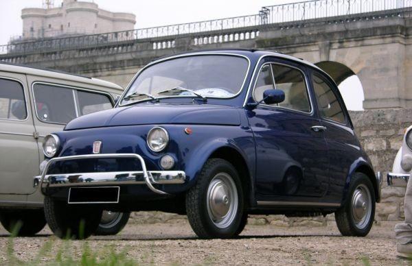 Fiat 500 Blu My Story