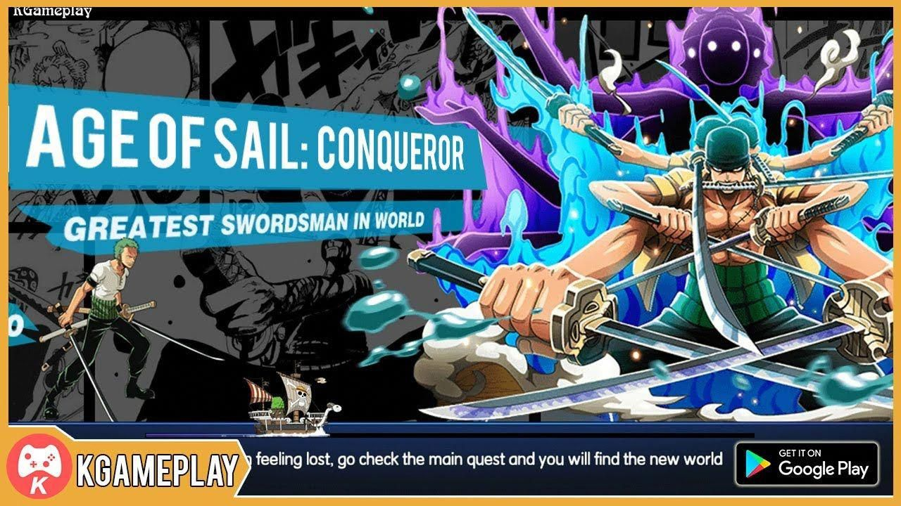 Age of Sail Conqueror Gameplay Anime Android iOS