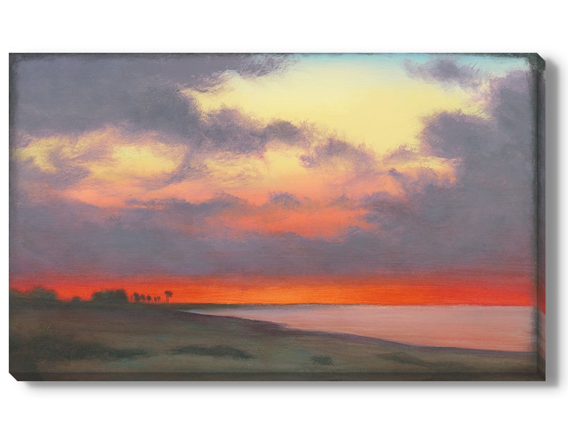 'Fire Sky' Original Painting on Wrapped Canvas