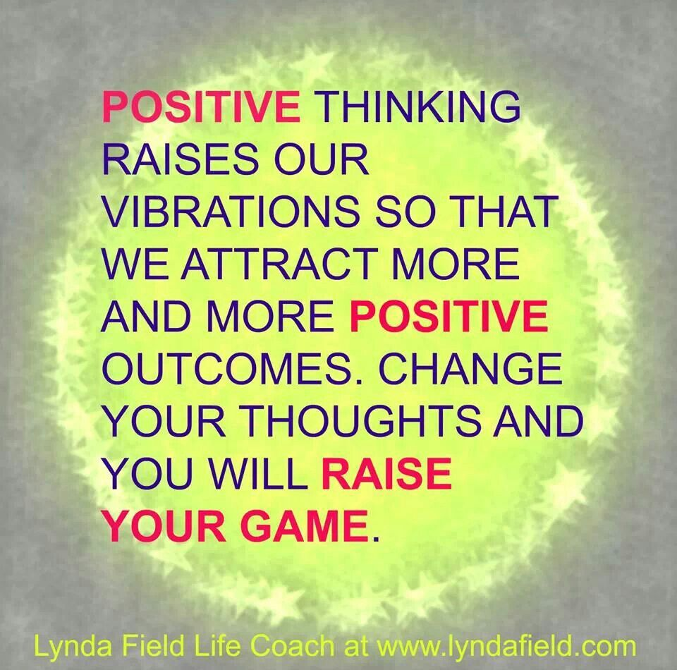 The power of our thoughts > Positive results ) http