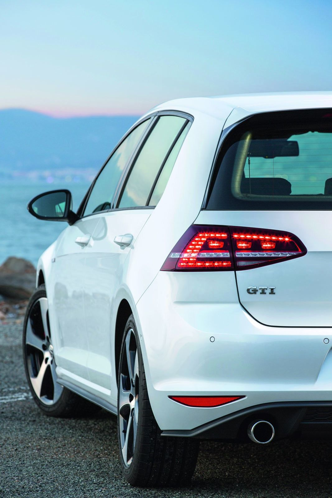 Golf Mk7 GTi White My current car Probably the best one I ve had