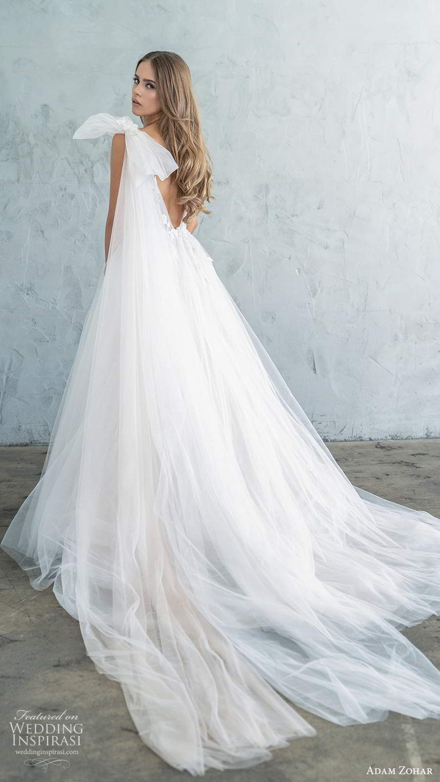 "Adam Zohar Fall 2020 Wedding Dresses — ""Kai"" Bridal"