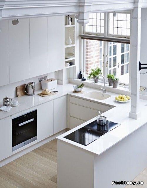 Интересные решения для маленьких квартир кухня Pinterest