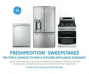PIN to WIN a GE Kitchen Appliance Package! Pin for a chance to win ...
