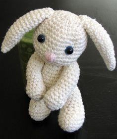 Un Petit Amigurumi Lapin Au Crochet Patron Gratuit