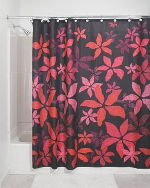 Tessa Is A Great Shower Curtain For Any Bathroom That Needs Some