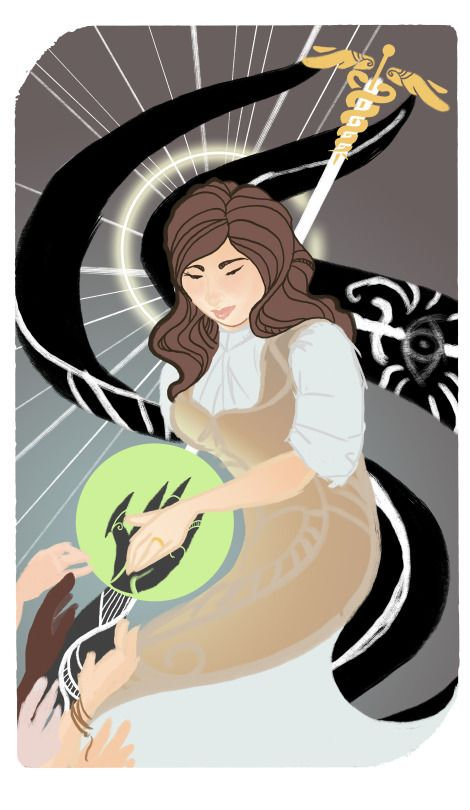 Dragon Age Iquistion Au Continuing Gwen Tarot By