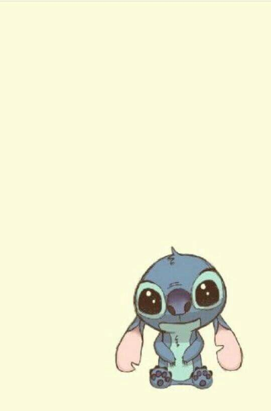 I Love Stitch Hes So Cute And Now A Baby
