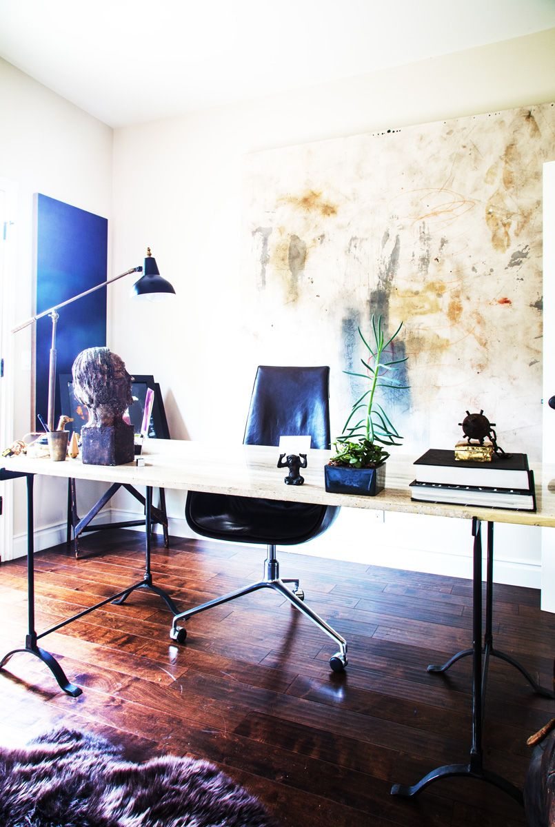 This Stunning Chicago Home Is Only 1000 Square Feet Home Office Space Home Home Office Decor