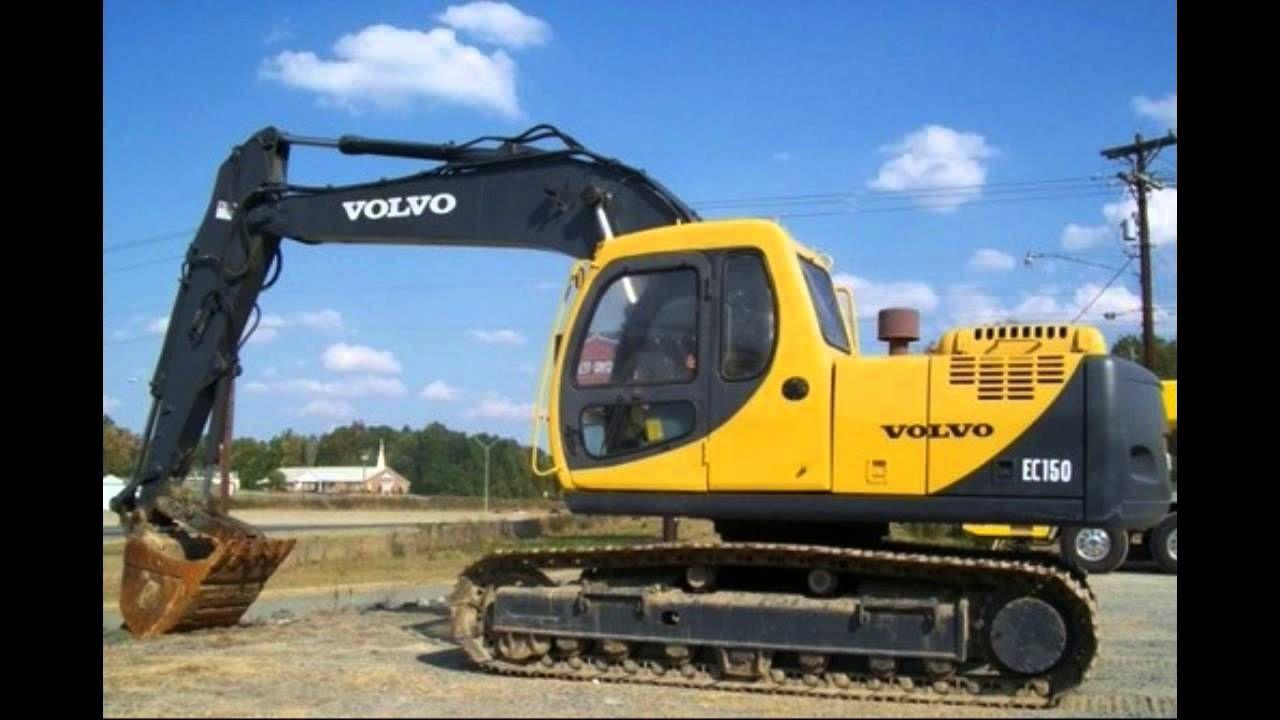 Volvo Ec150 Lc Excavator Service Repair Manual Sn 3001 And Up Volvo Excavator Forestry Equipment