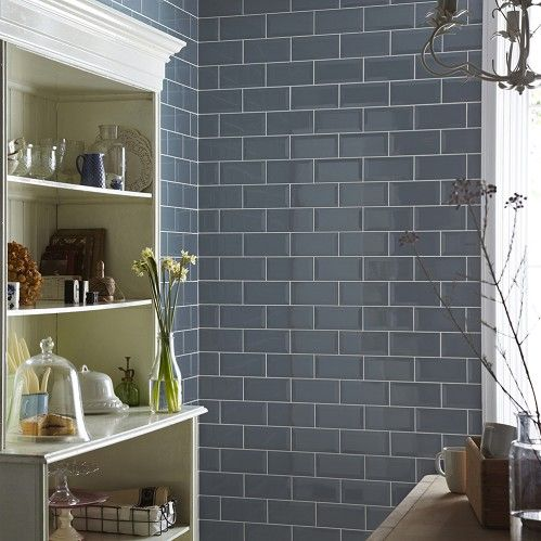 Metro Blue Bathroom Pinterest Salle de bains et Salle