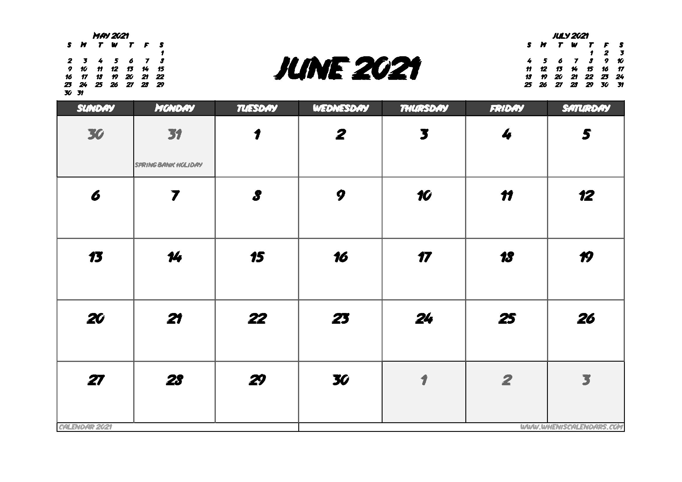 June 2021 Calendar Uk With Holidays In 2020 Calendar Uk 2021 Calendar Calendar