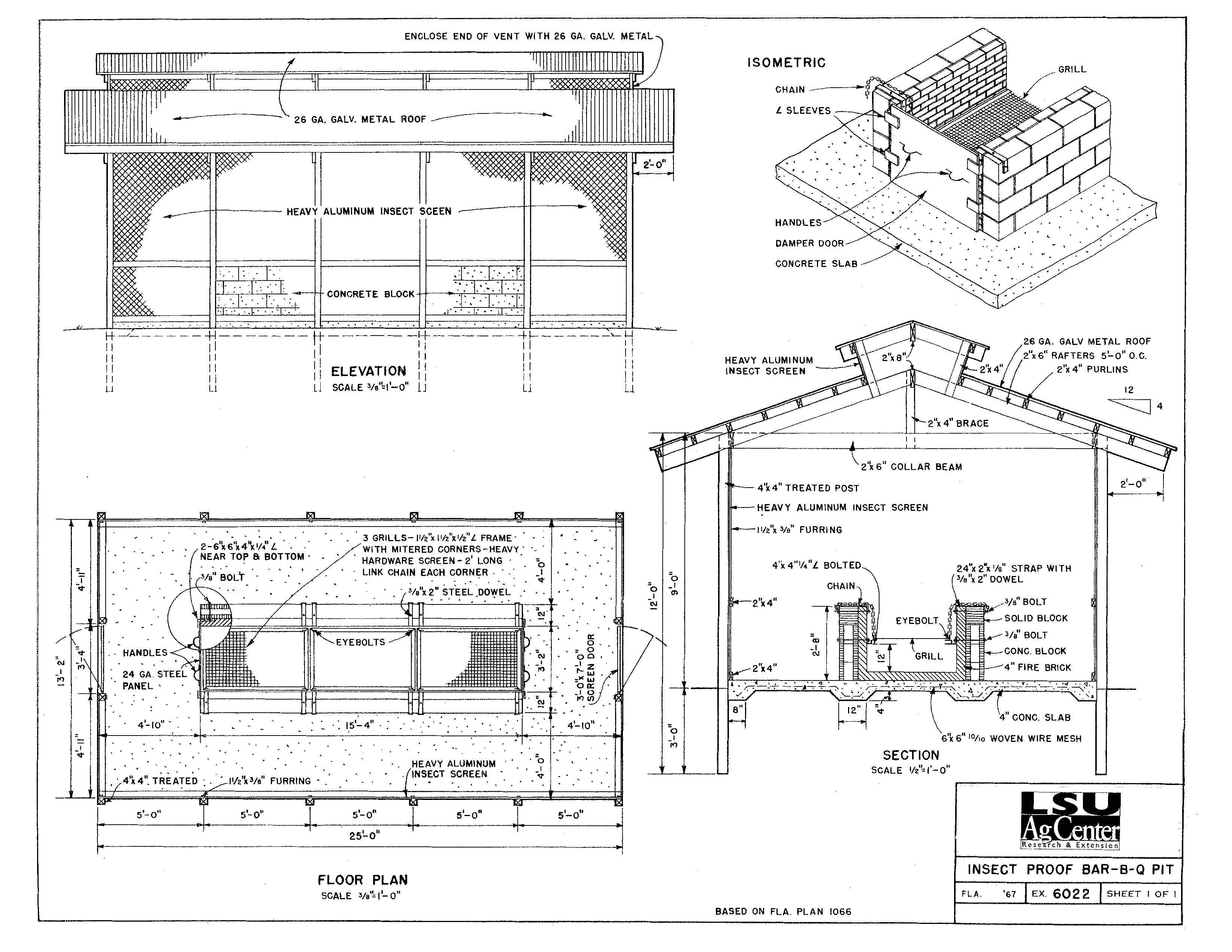Design Plan Diy Bbq How To