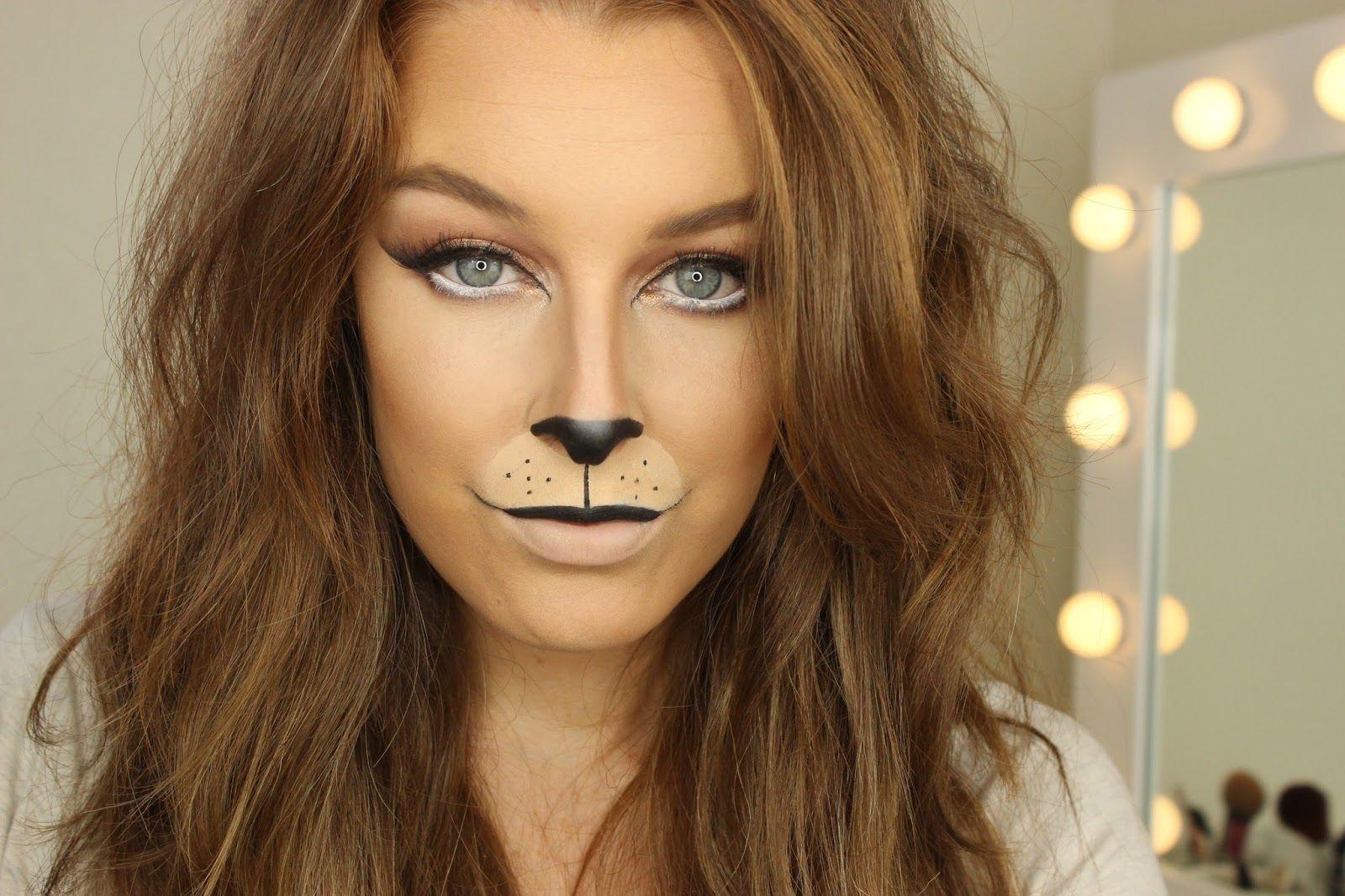 Lion Halloween Makeup | Halloween fun | Pinterest | Halloween ...