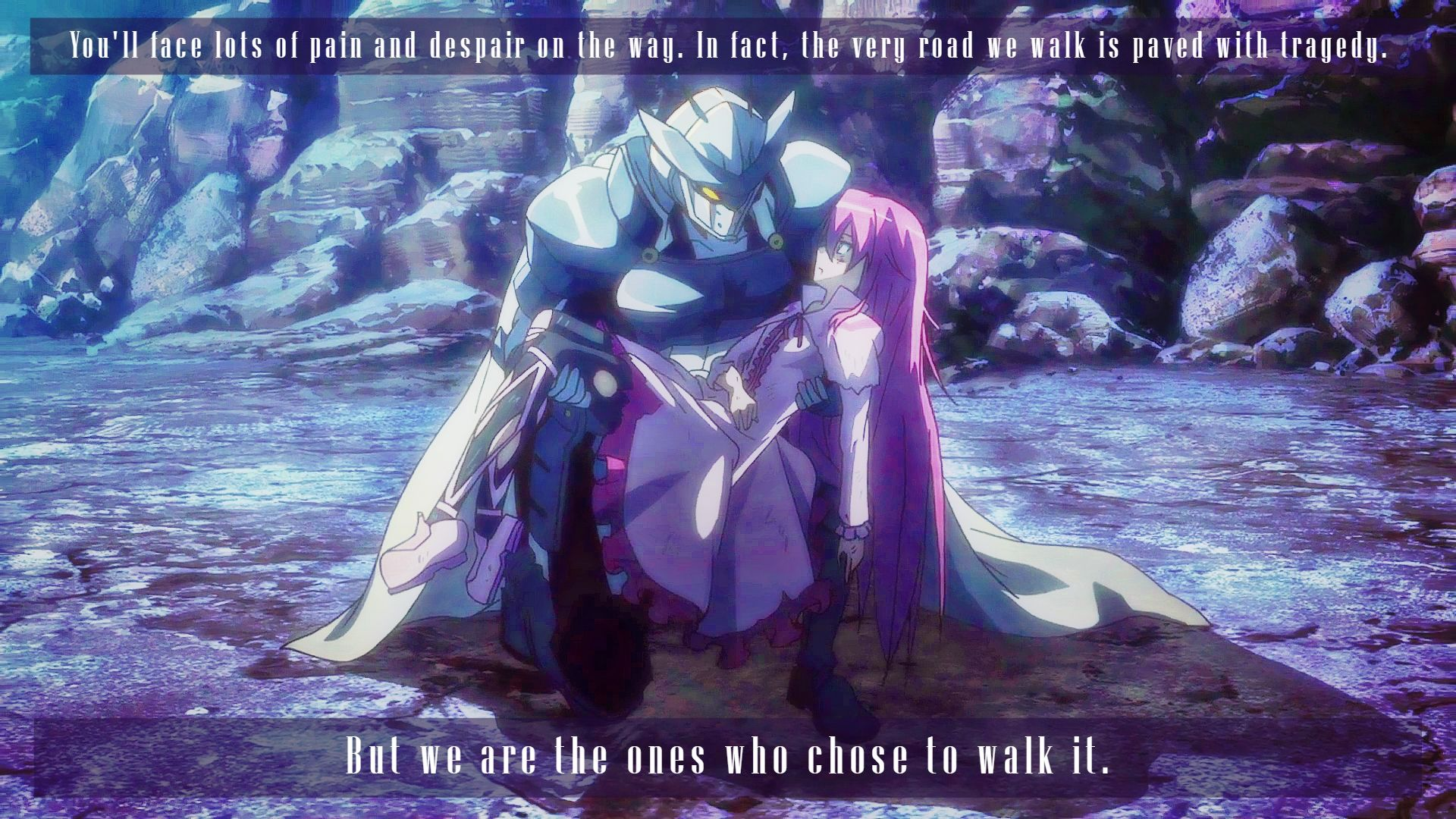 Akame Ga Kill Wallpaper Anime Quotes Tatsumi And Mine Akame Ga