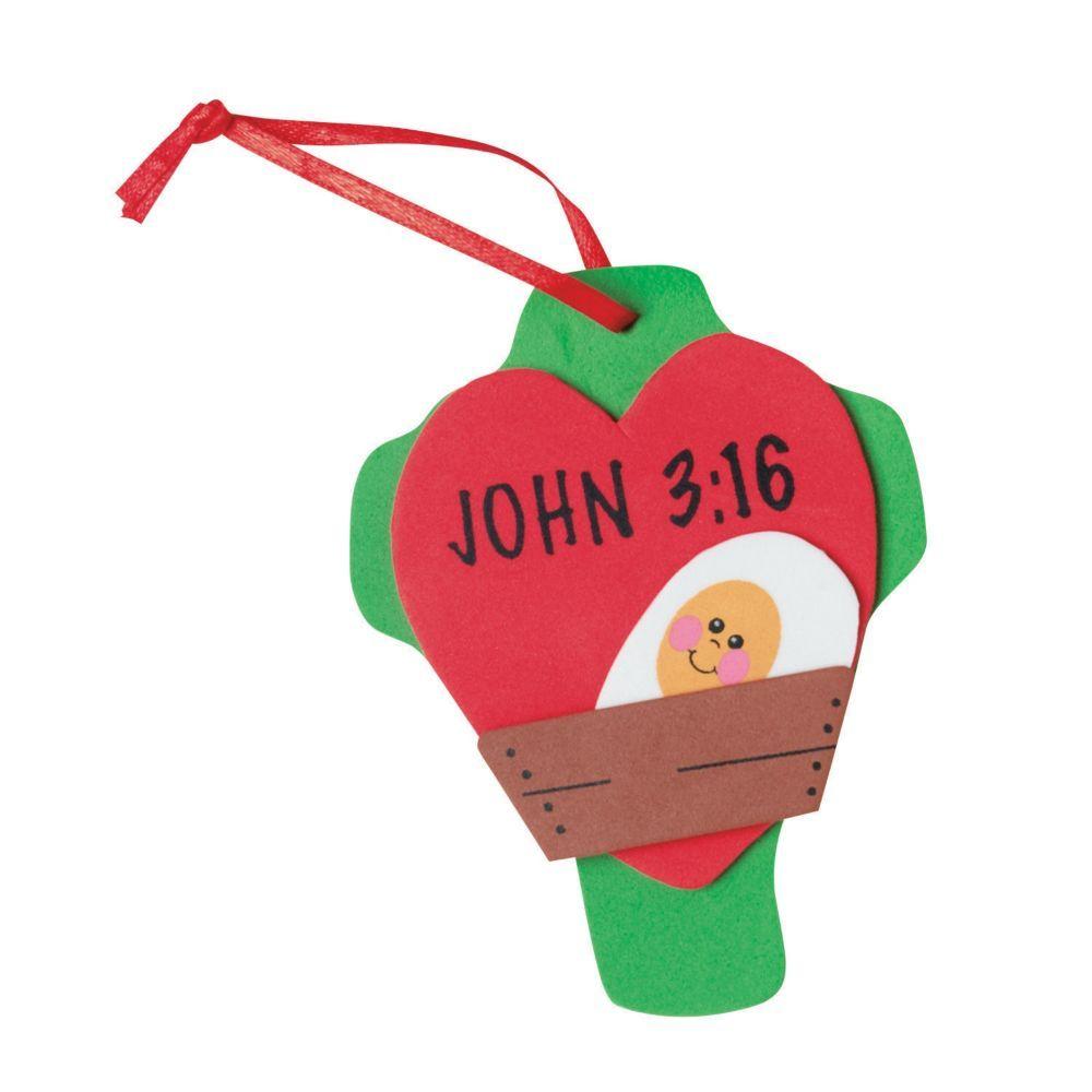 John 3:16 Christmas Ornament Craft Kit | Products | Pinterest
