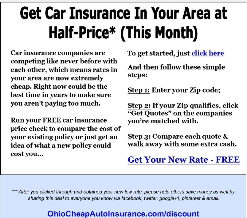Stop Overpaying For Auto Insurance In Ohio Visit Http