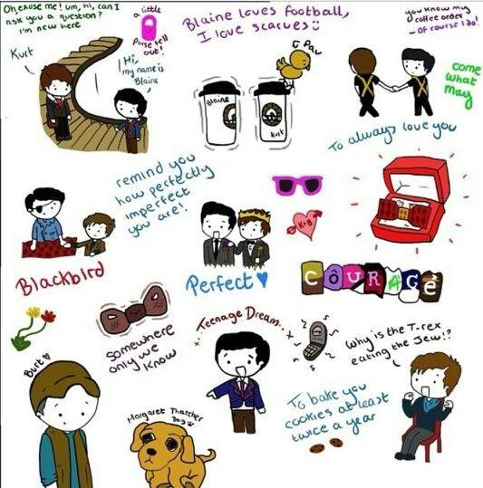 Little Klaine things