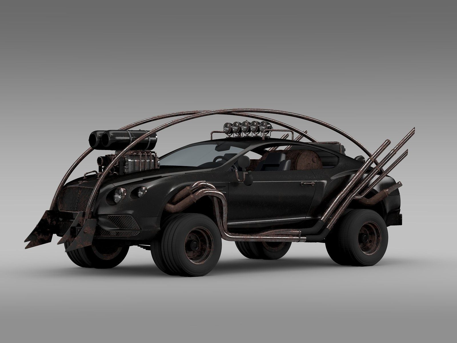 Mad Max Grizzly Bentley Continental Bentley continental